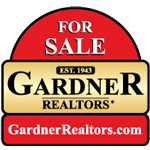 Listed by: GARDNER, REALTORS